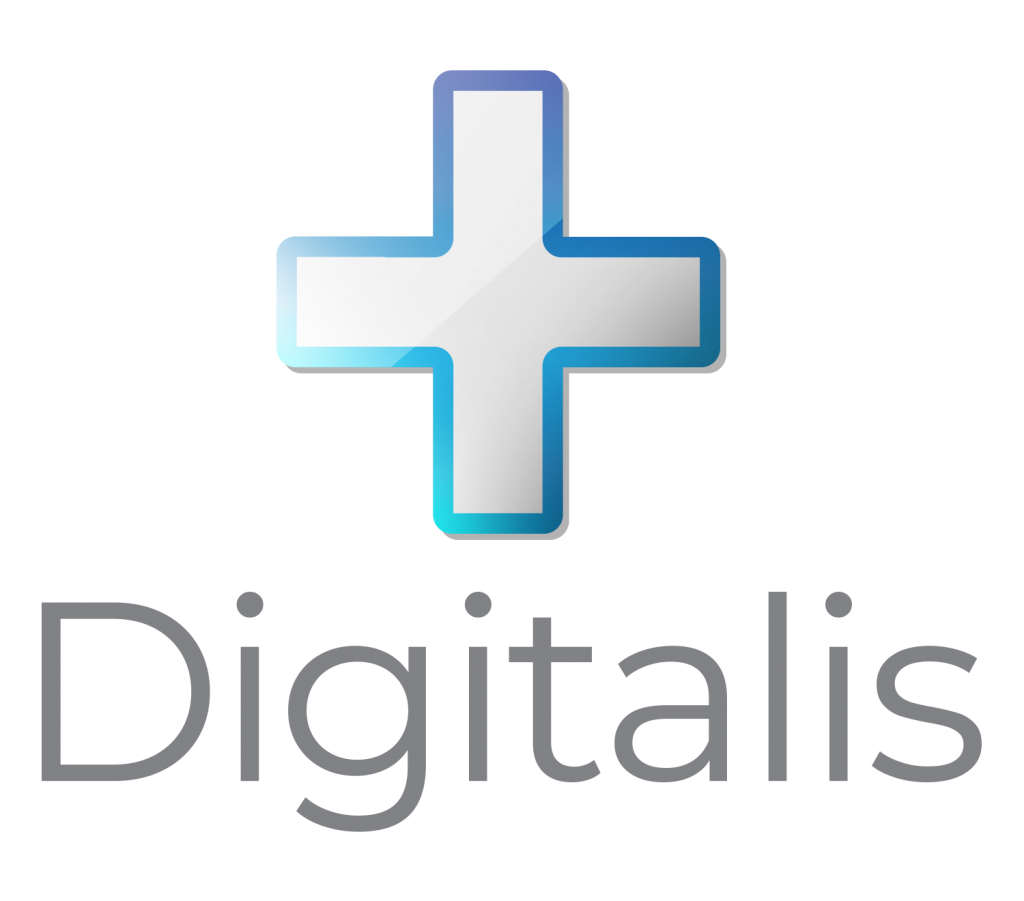 digitalis logo with title