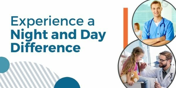 Experience a Night and Day Difference with Our Healthcare Marketing Strategies