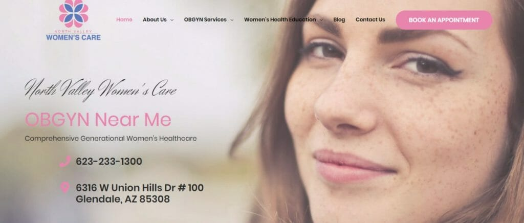 website design for healthcare marketing