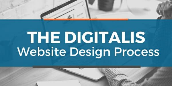 the digitalis website design process