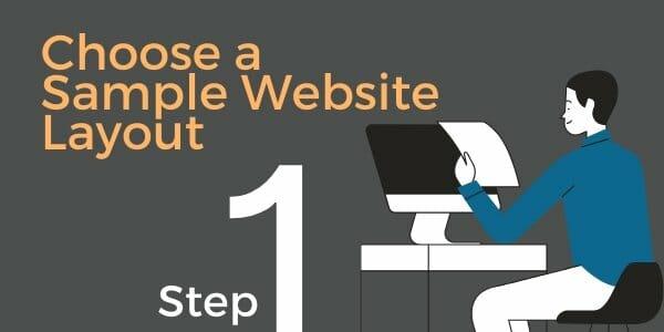 choose website layout