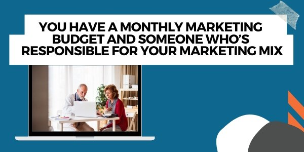 google ads in marketing budget