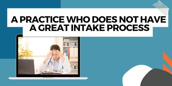 no great intake process