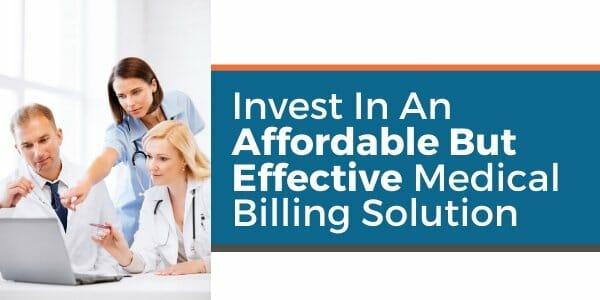affordable effective medical billing