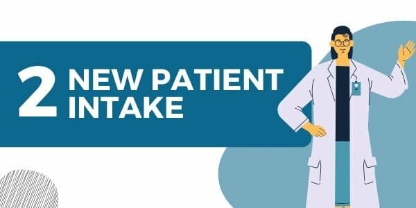 new patient intake