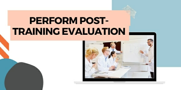 post-training evaluation
