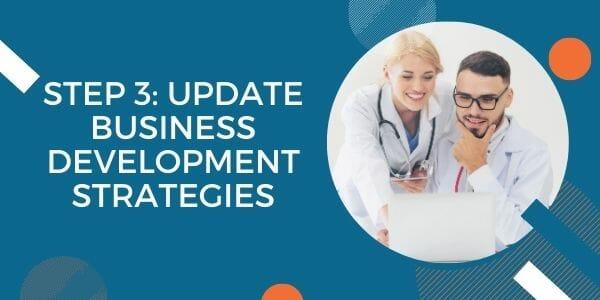 update business development strategies